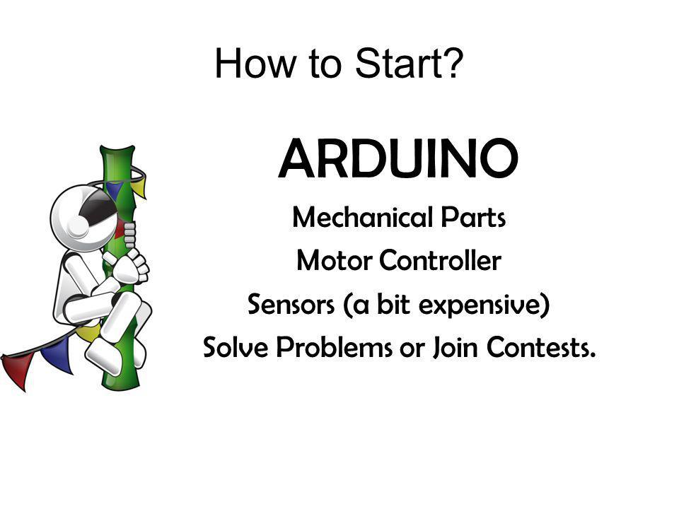 ARDUINO How to Start Mechanical Parts Motor Controller