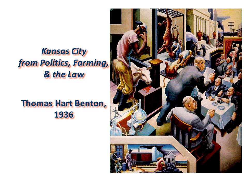 Kansas City from Politics, Farming, & the Law