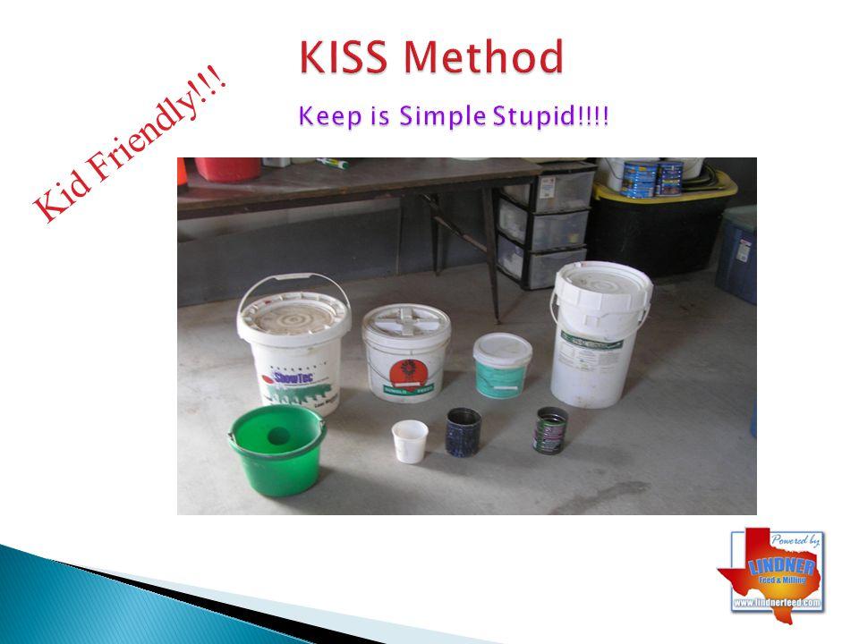 KISS Method Keep is Simple Stupid!!!!