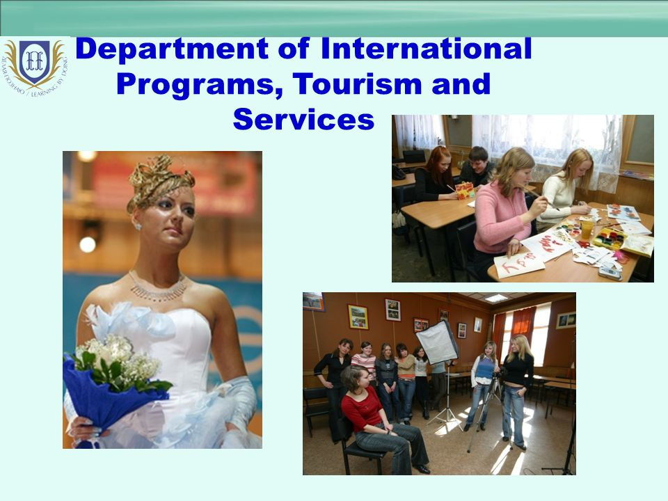 Department of International Programs, Tourism and Services