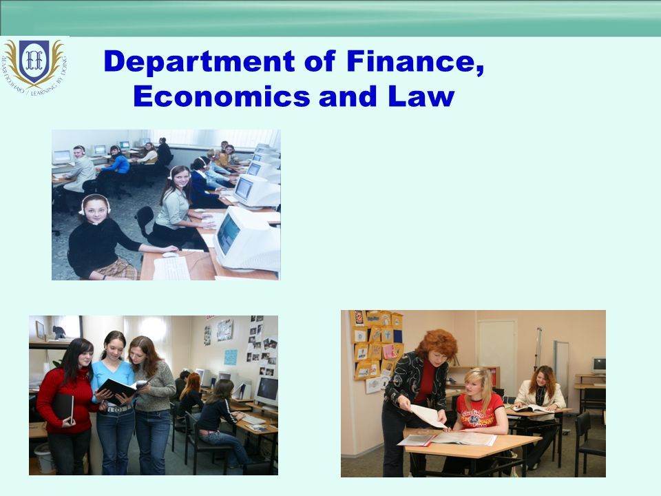 Department of Finance, Economics and Law