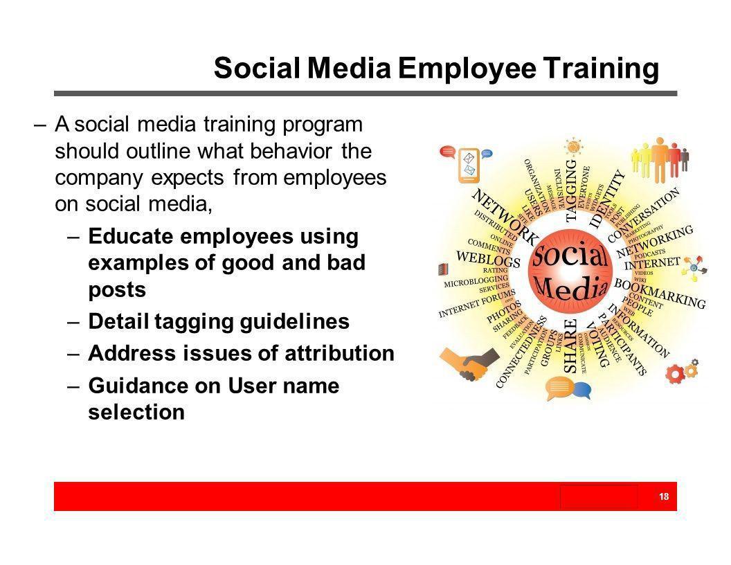 Social Media Employee Training