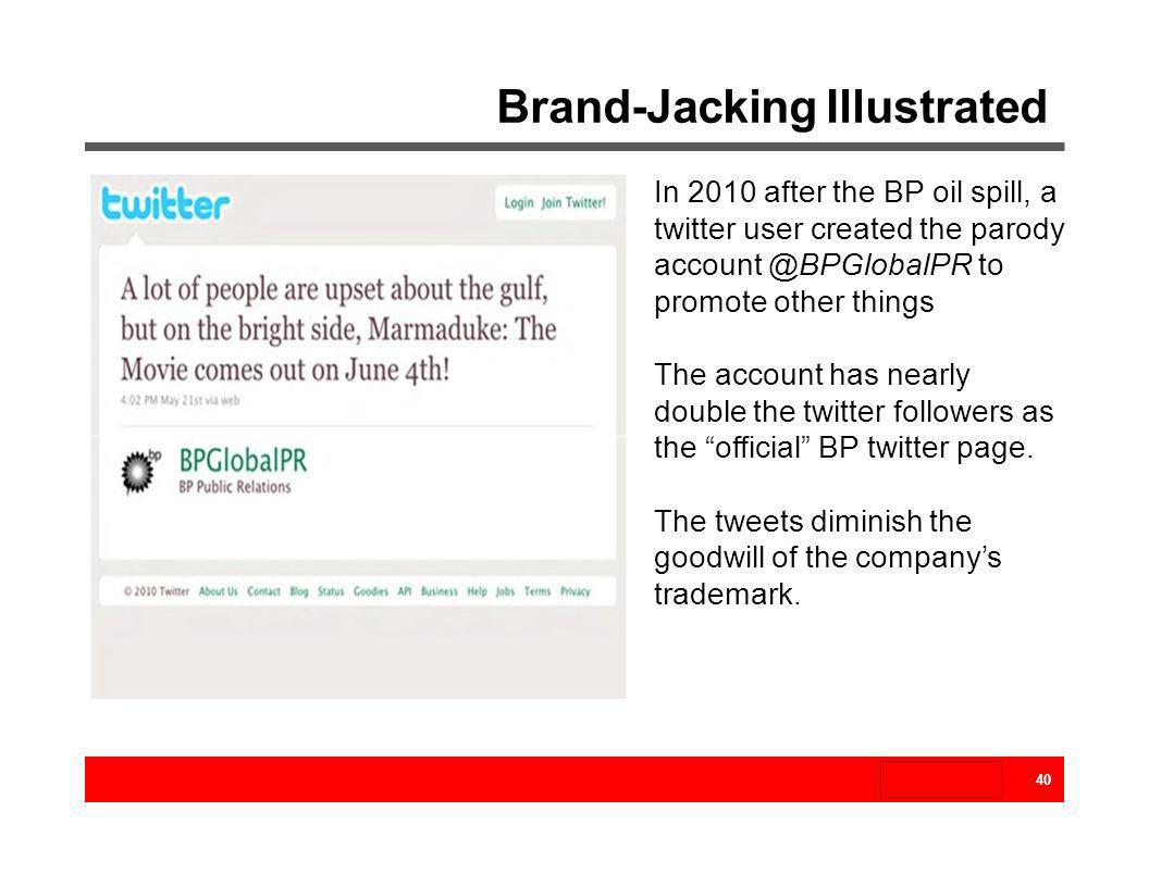 Brand-Jacking Illustrated