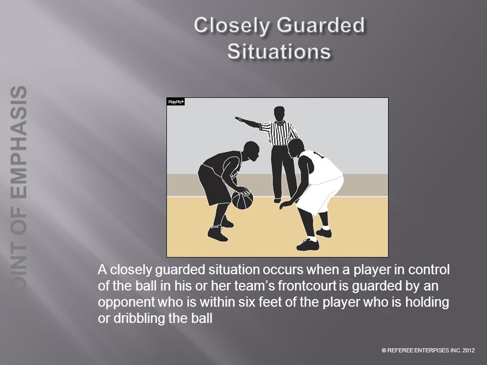 Closely Guarded Situations