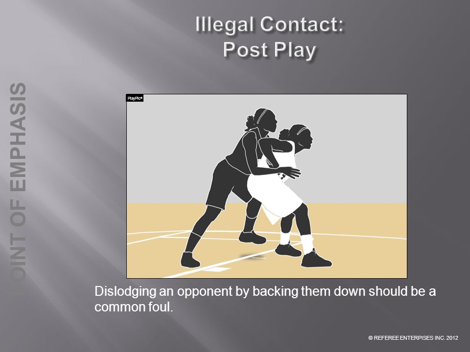 Illegal Contact: Post Play