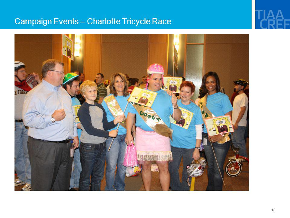 Campaign Events – Charlotte Tricycle Race