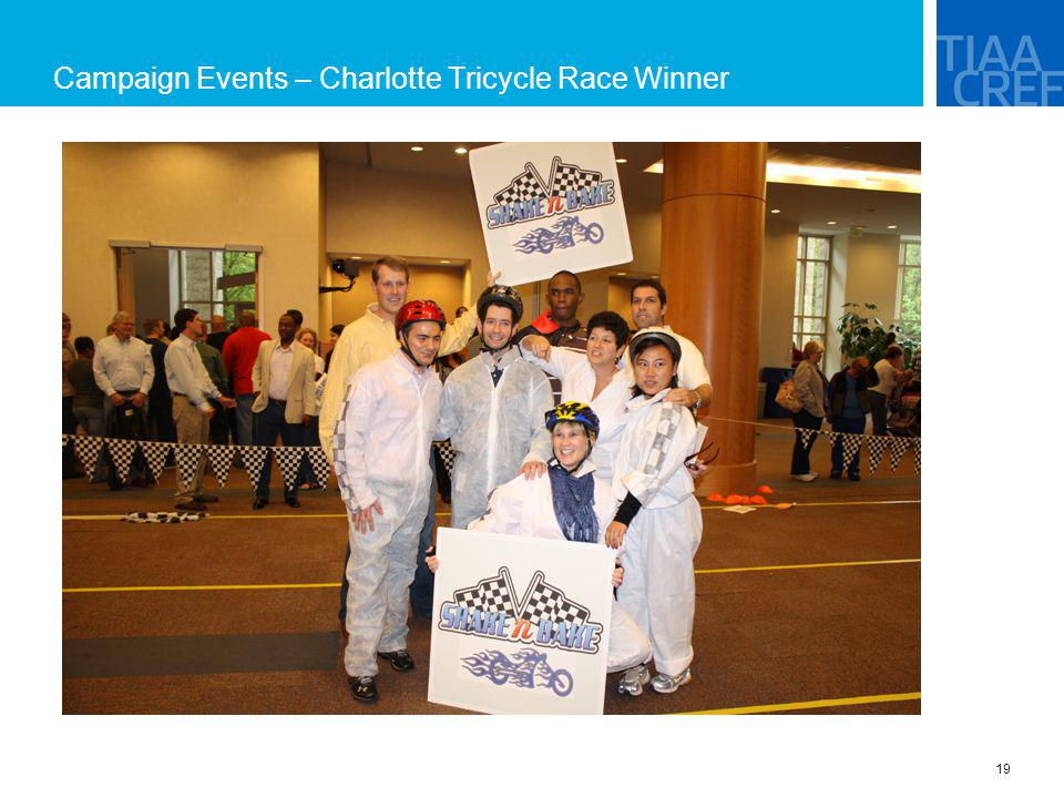 Campaign Events – Charlotte Tricycle Race Winner
