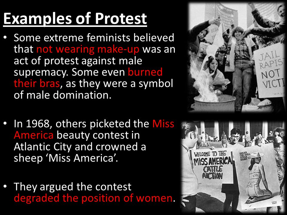 Examples of Protest