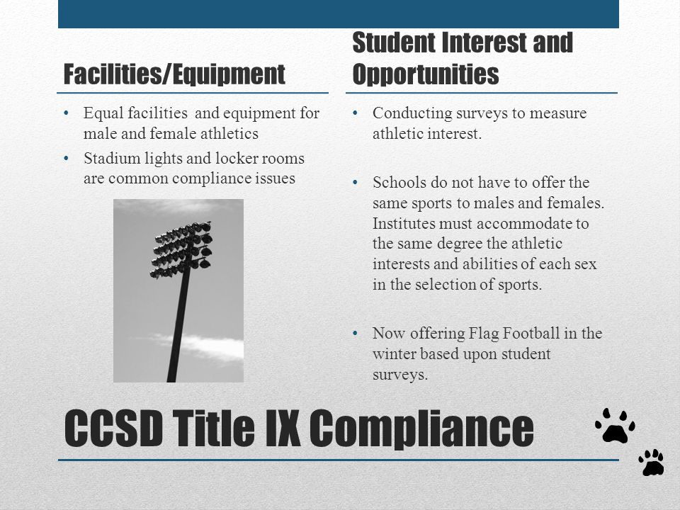 CCSD Title IX Compliance