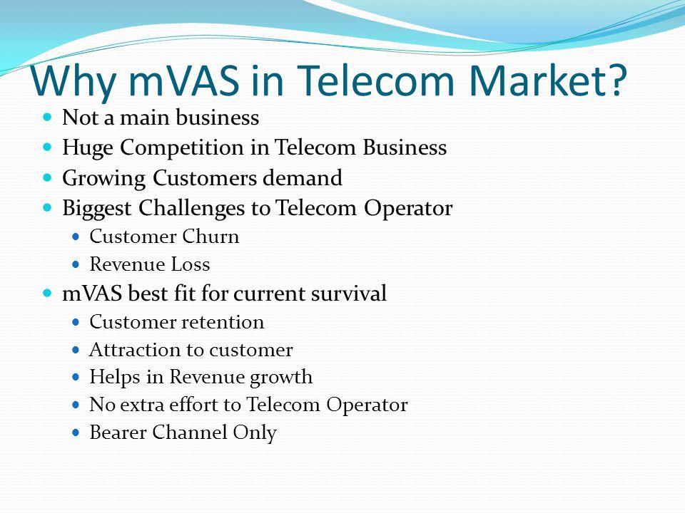 Why mVAS in Telecom Market