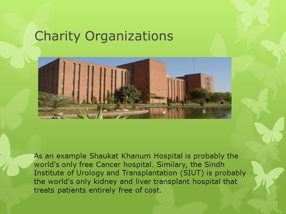 Charity Organizations