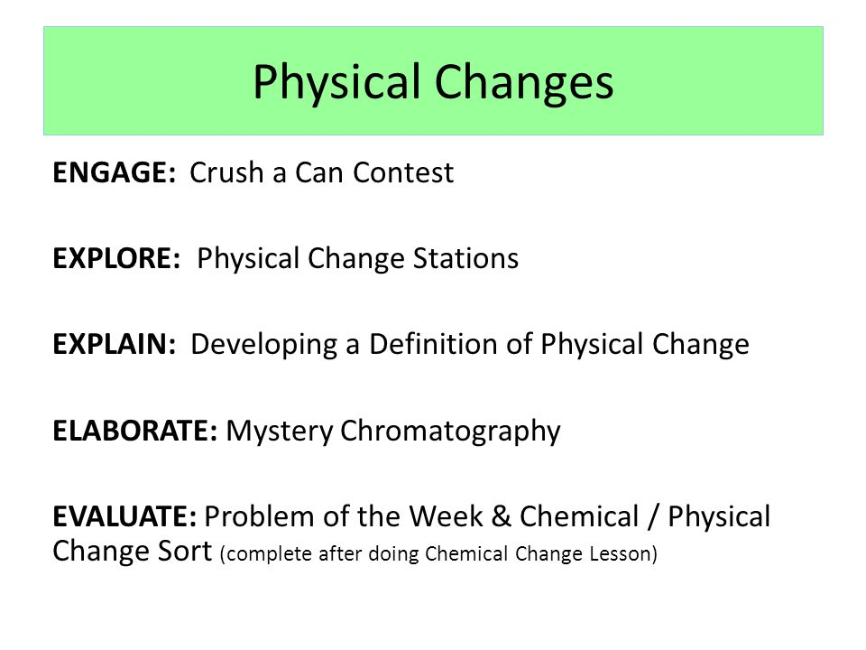 Changes in Matter Lessons - ppt video online download