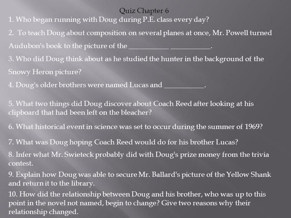 Quiz Chapter 6