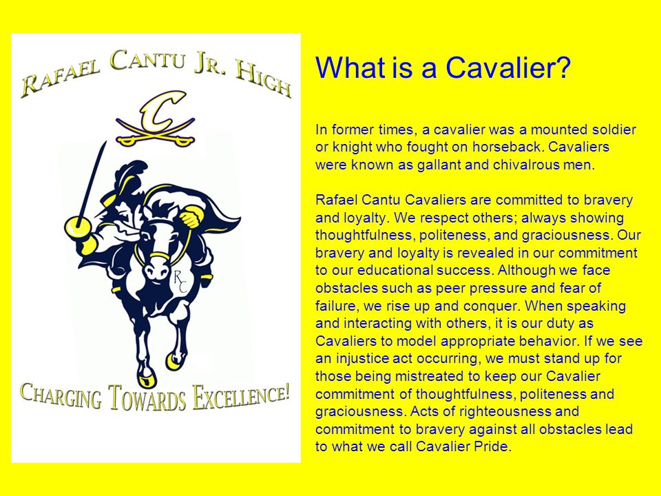 What is a Cavalier.