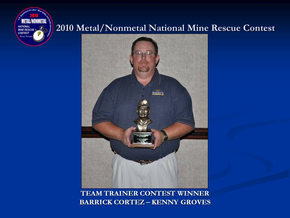 2010 Metal/Nonmetal National Mine Rescue Contest