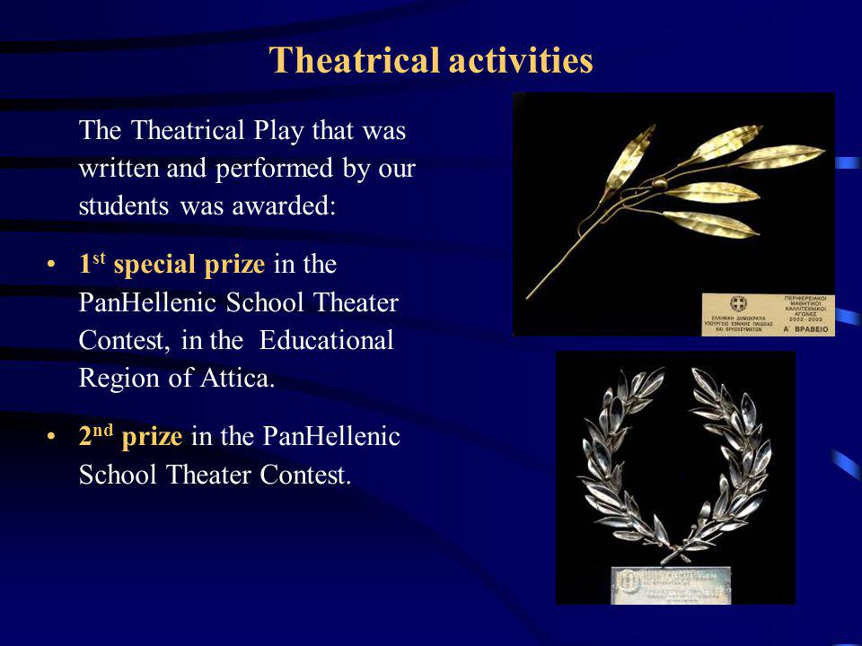 Theatrical activities