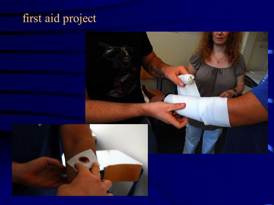 first aid project