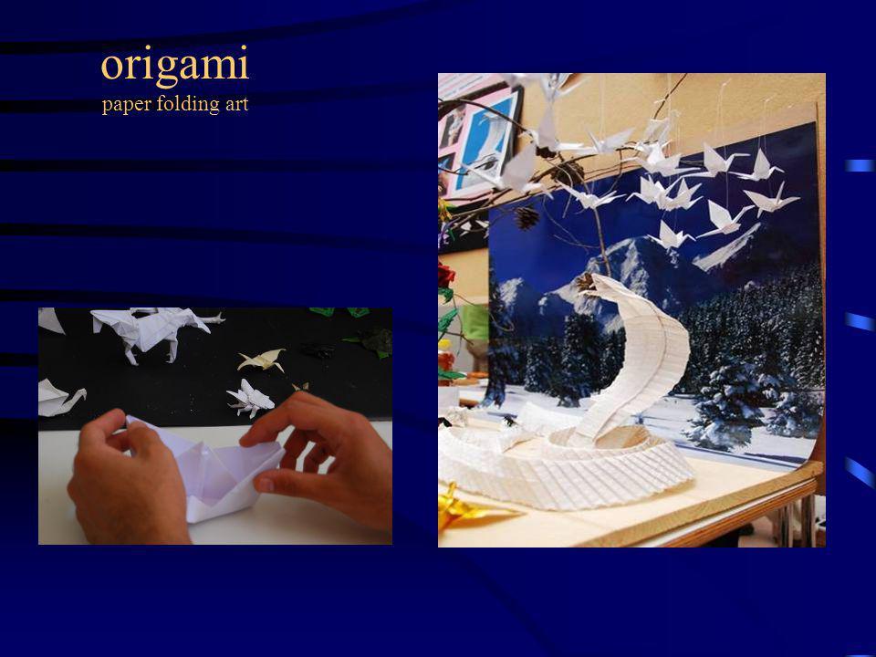 origami paper folding art