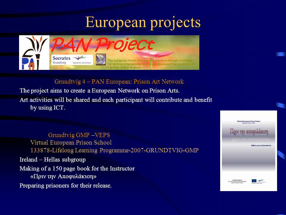 Grundtvig 4 – PAN European: Prison Art Network