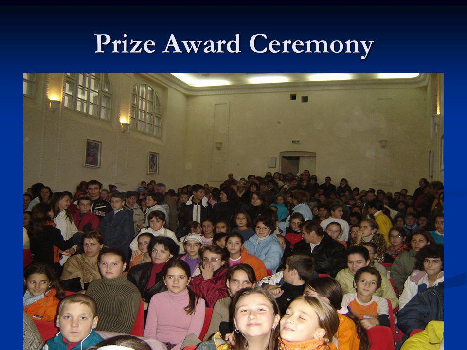 Prize Award Ceremony