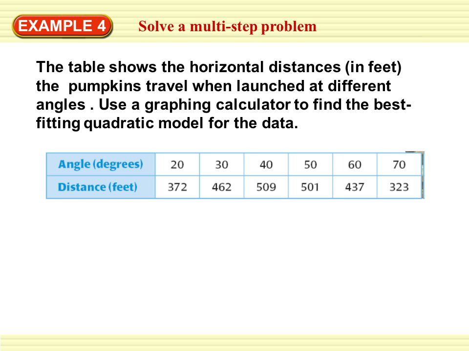 EXAMPLE 4 Solve a multi-step problem.
