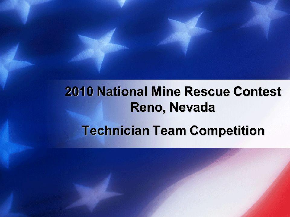 2010 National Mine Rescue Contest Reno, Nevada
