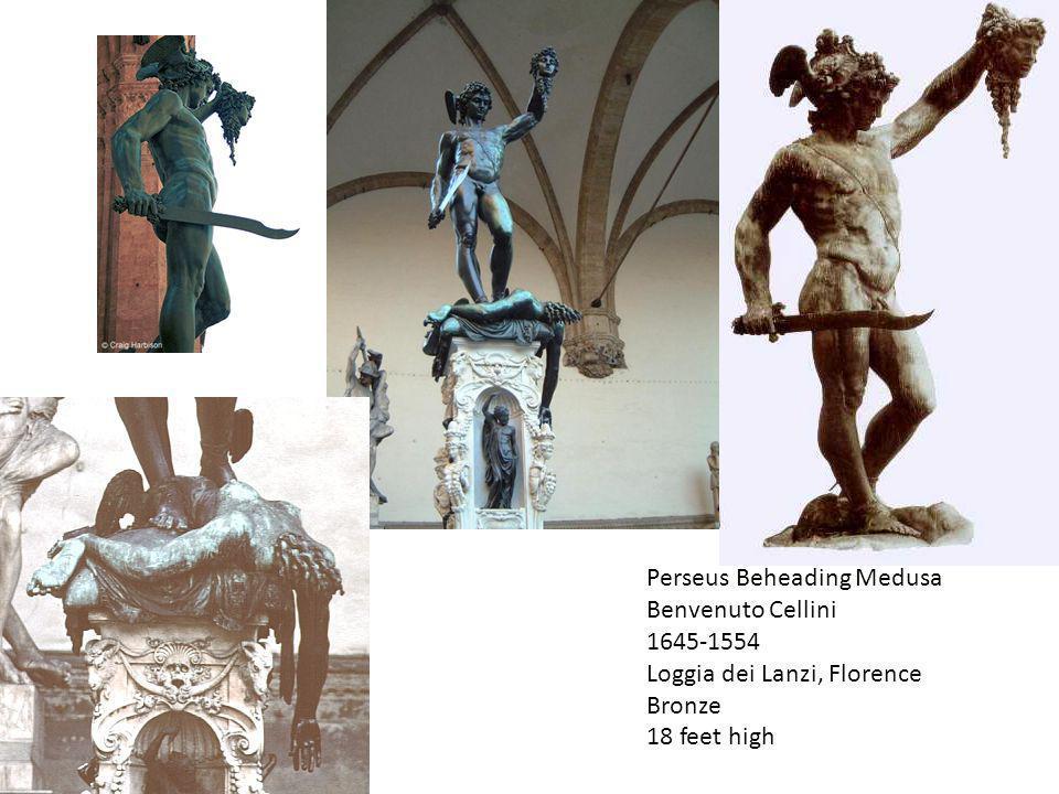 Perseus Beheading Medusa Benvenuto Cellini 1645-1554