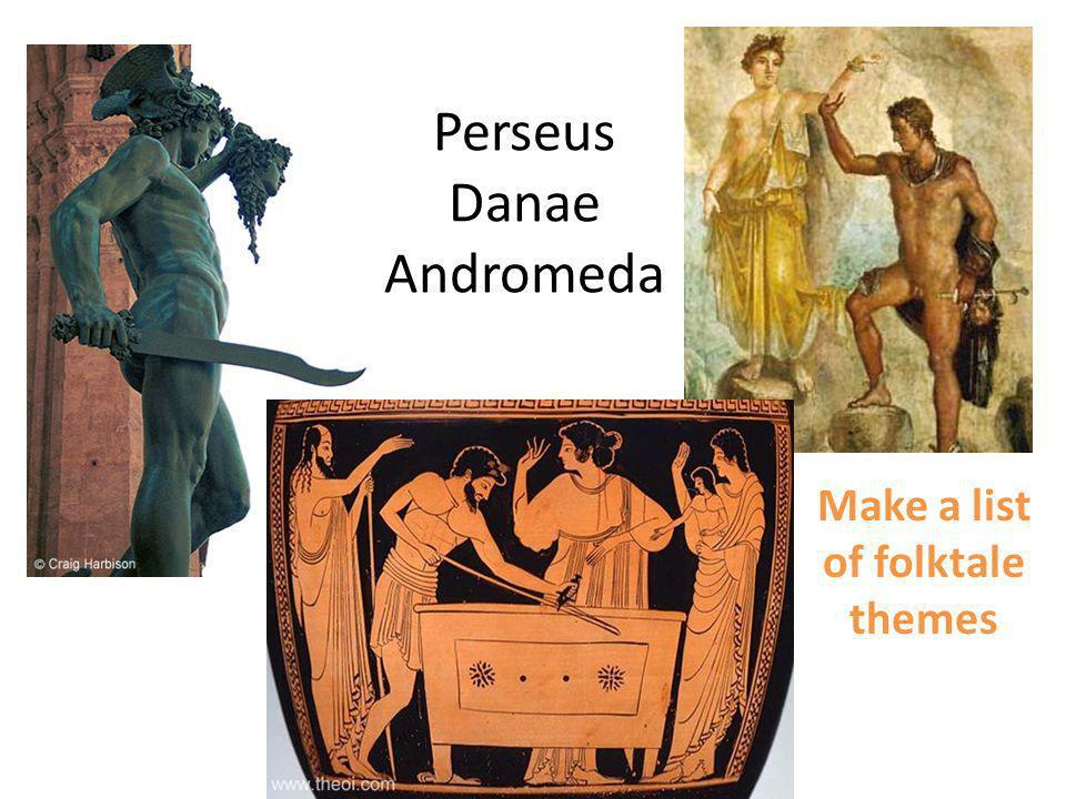 Perseus Danae Andromeda