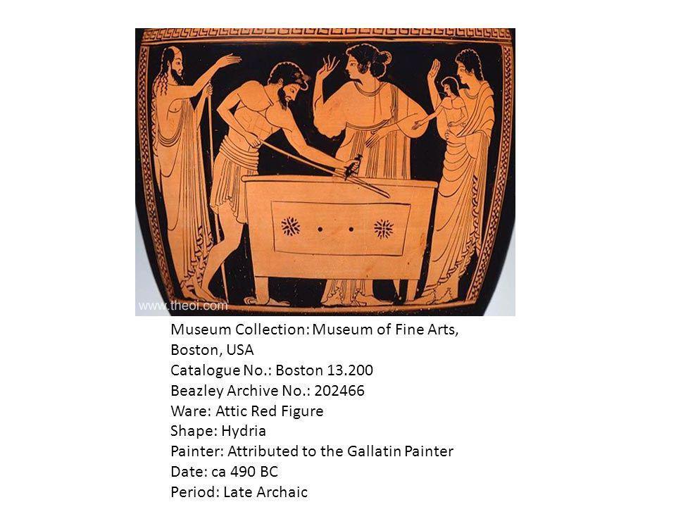 Museum Collection: Museum of Fine Arts, Boston, USA Catalogue No