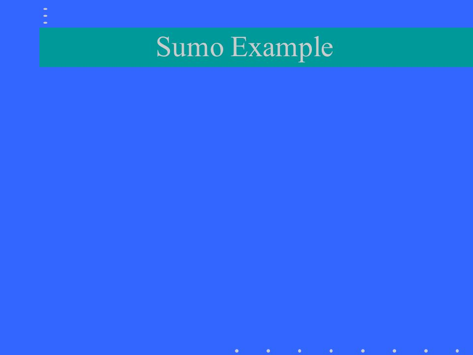 Sumo Example