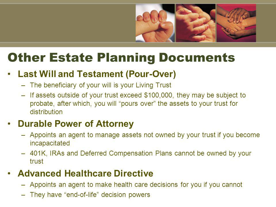 Other Estate Planning Documents