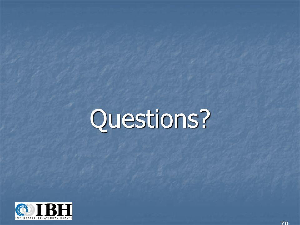 Questions 78