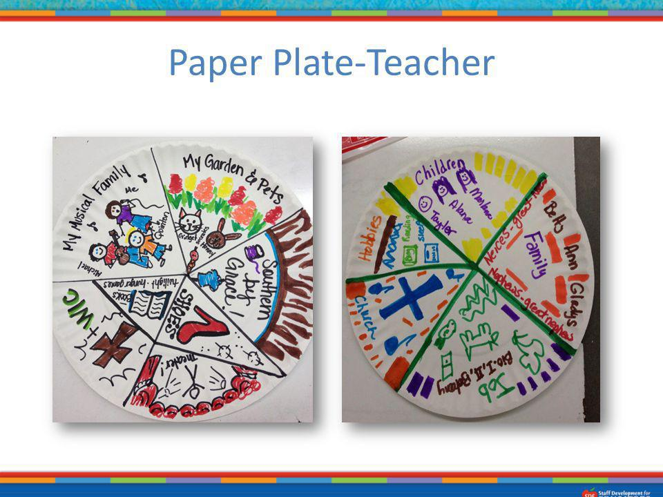 Paper Plate-Teacher