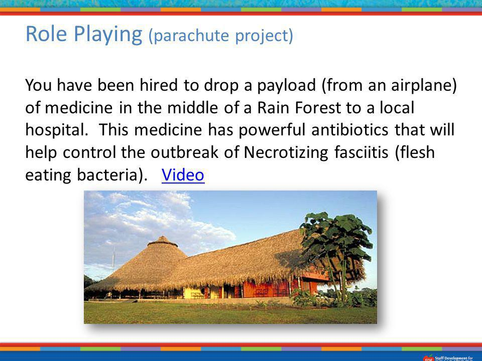 Role Playing (parachute project)