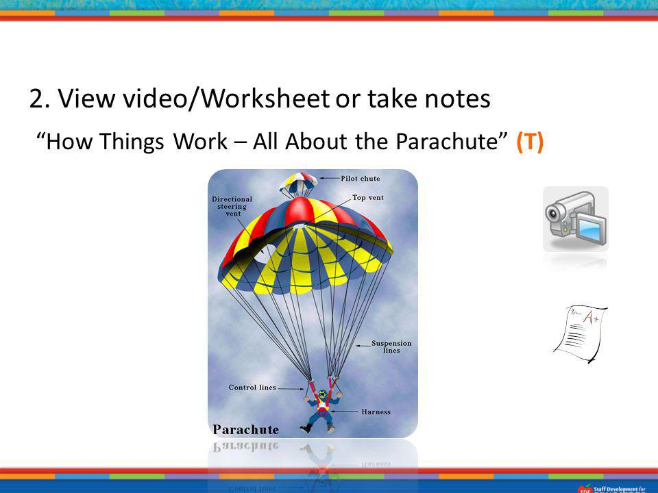 2. View video/Worksheet or take notes