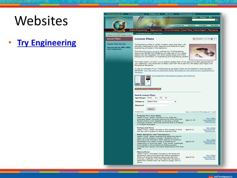 Websites Try Engineering