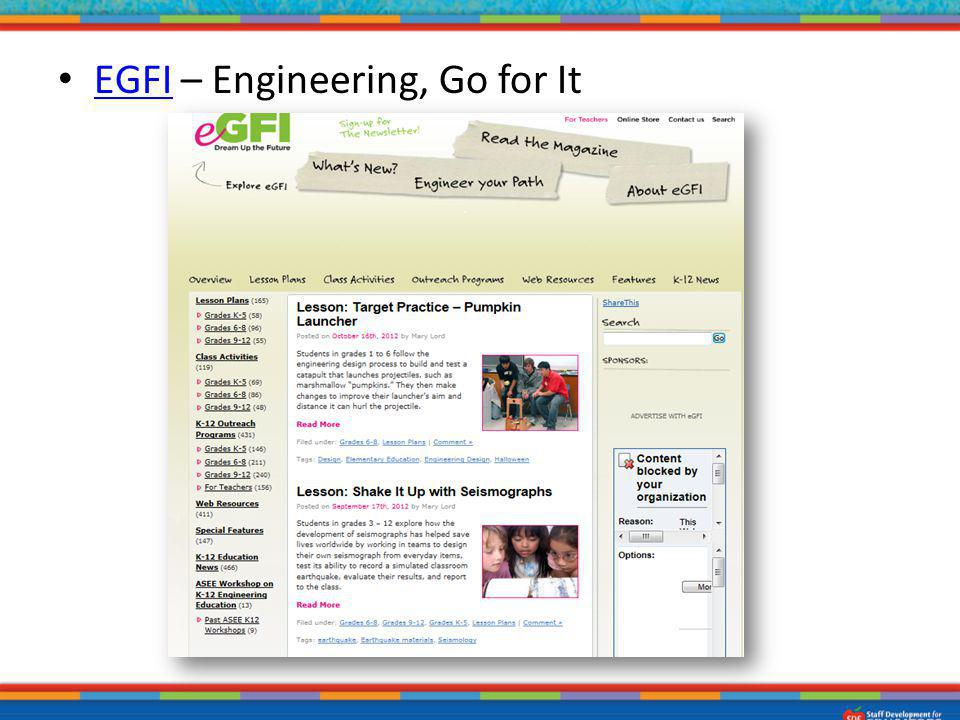 EGFI – Engineering, Go for It