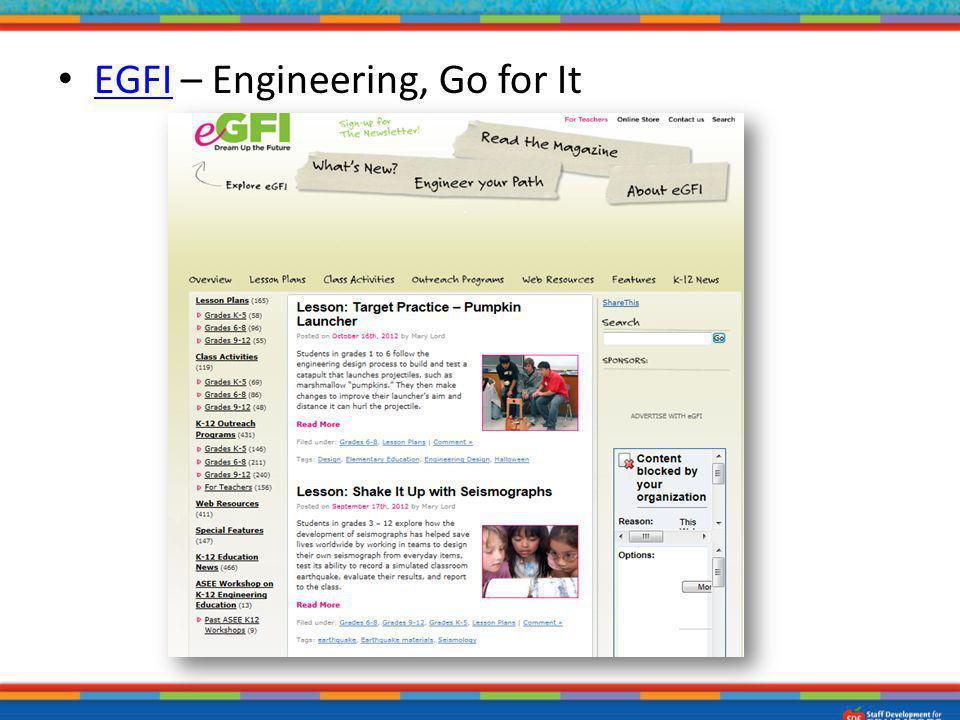 EGFI – Engineering, Go for It