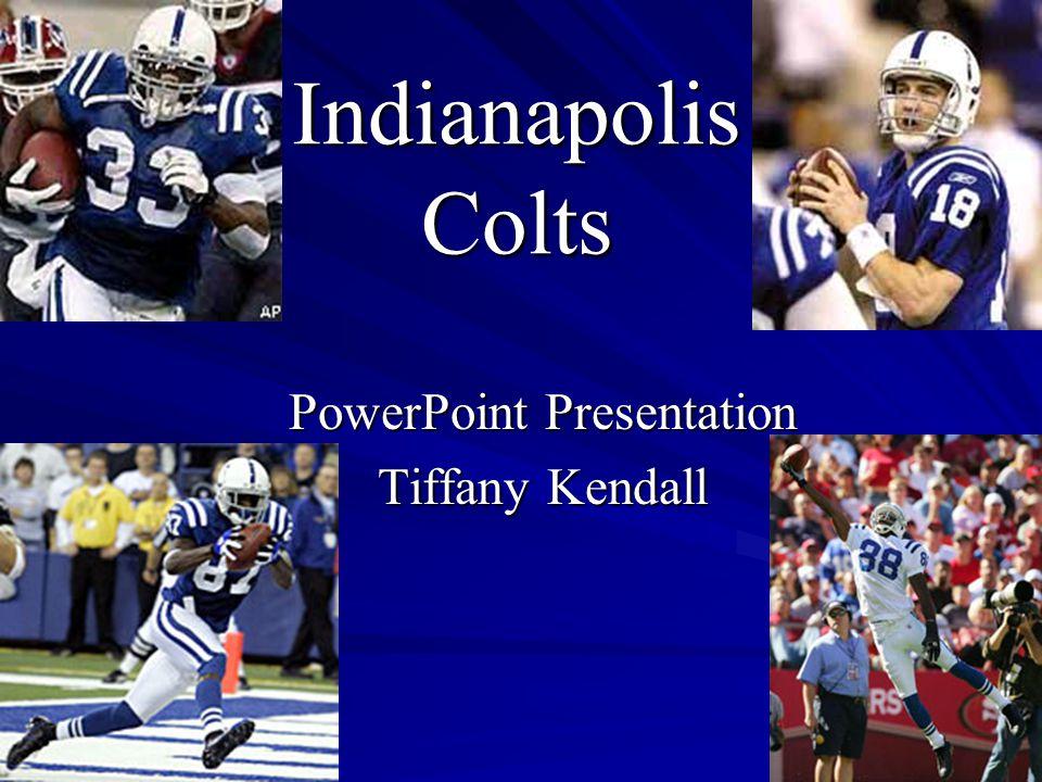 PowerPoint Presentation Tiffany Kendall