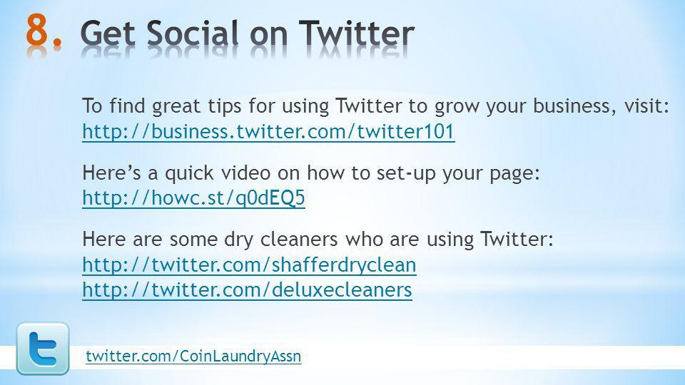 Get Social on Twitter