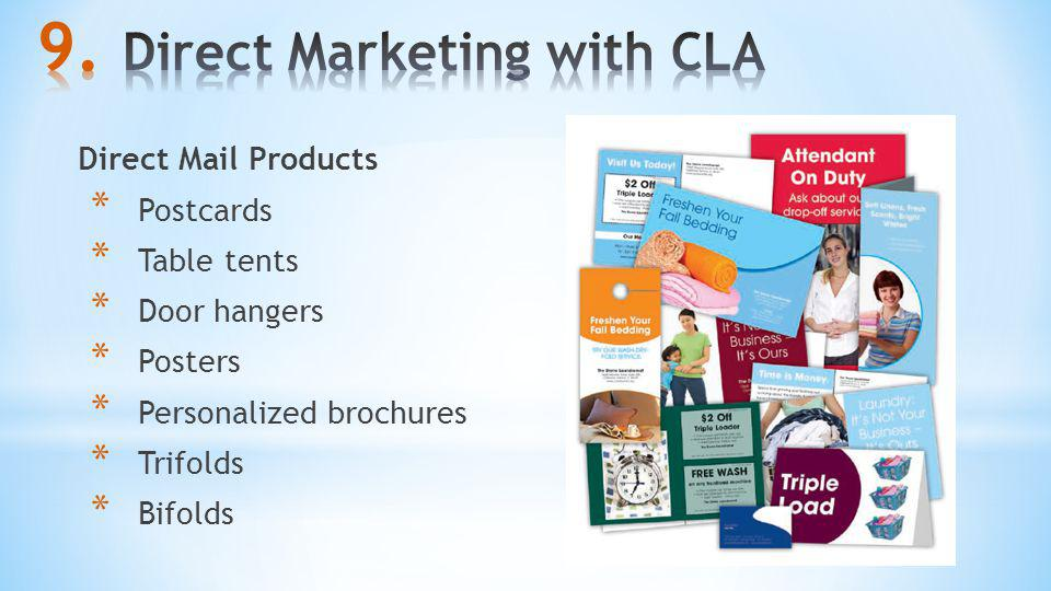 Direct Marketing with CLA