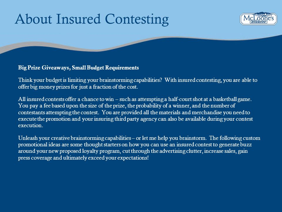 About Insured Contesting