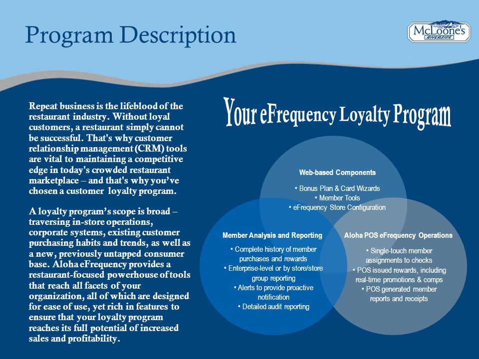 Your eFrequency Loyalty Program