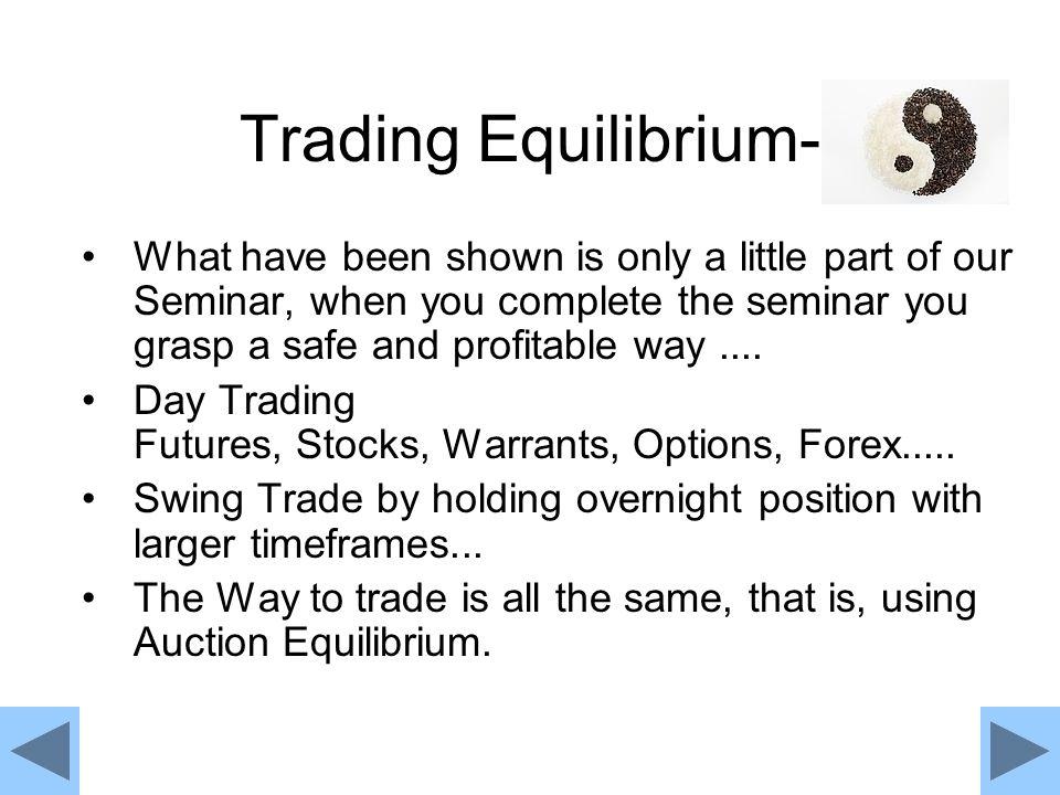 Trading Equilibrium-