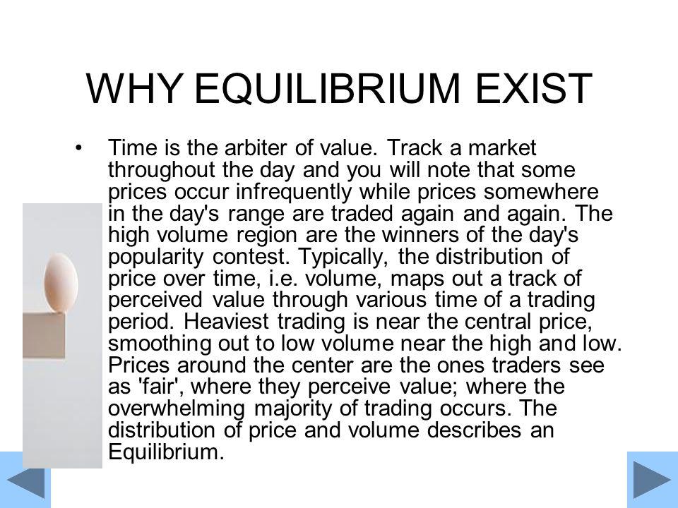 WHY EQUILIBRIUM EXIST