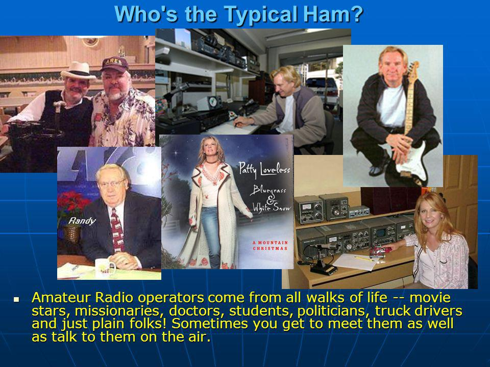 Who s the Typical Ham