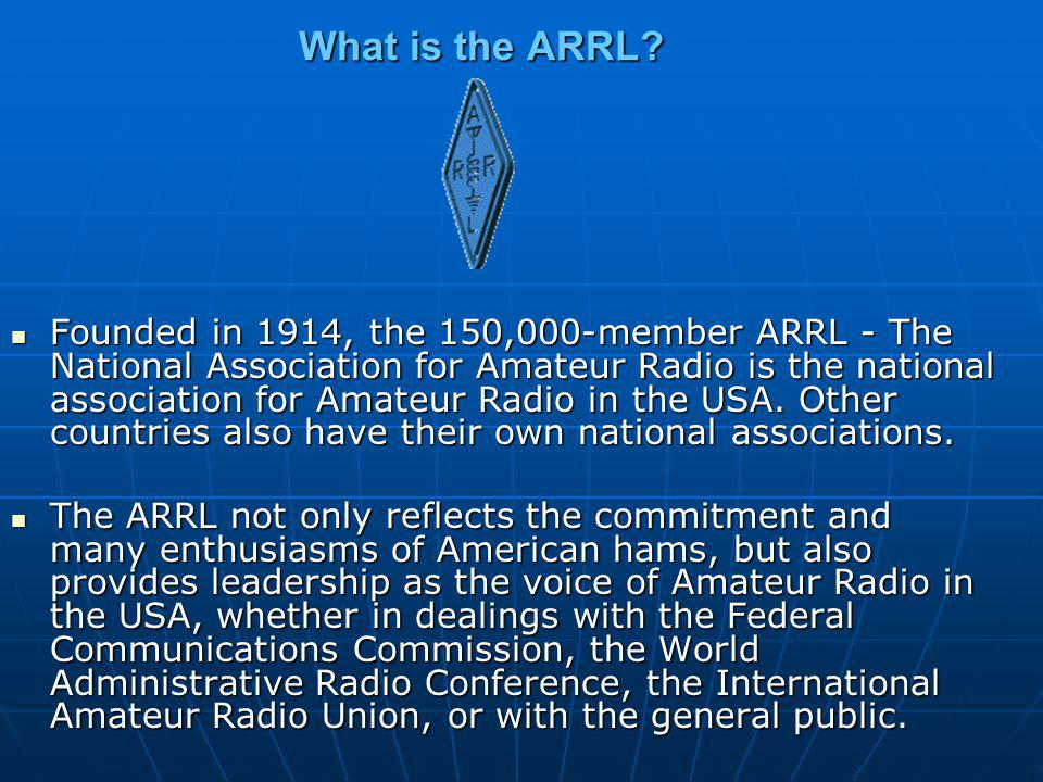 What is the ARRL