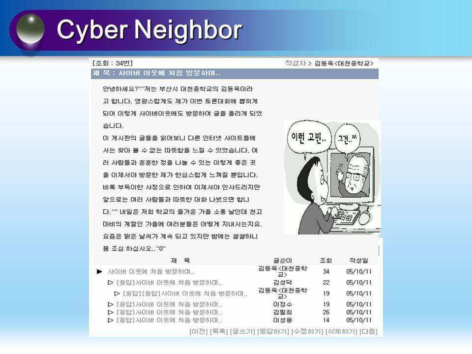 Cyber Neighbor