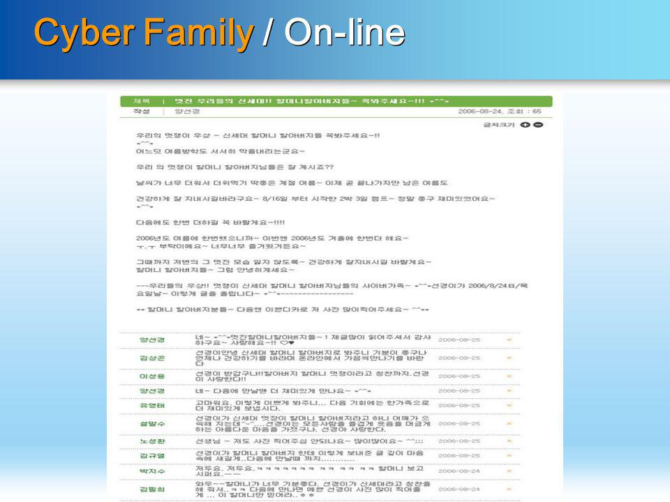 Cyber Family / On-line