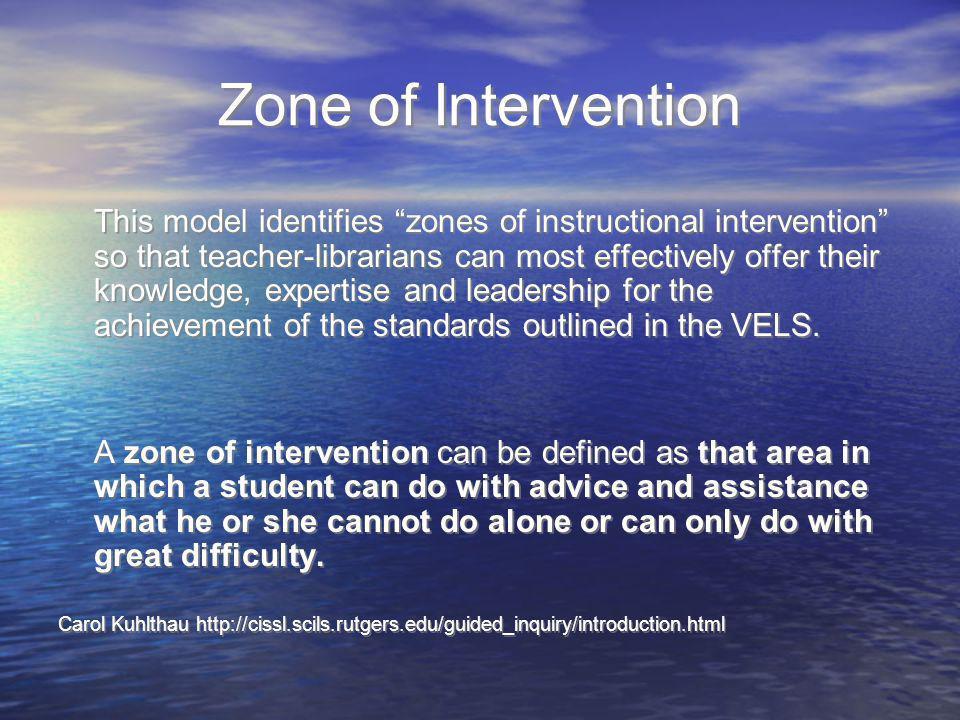 Zone of Intervention